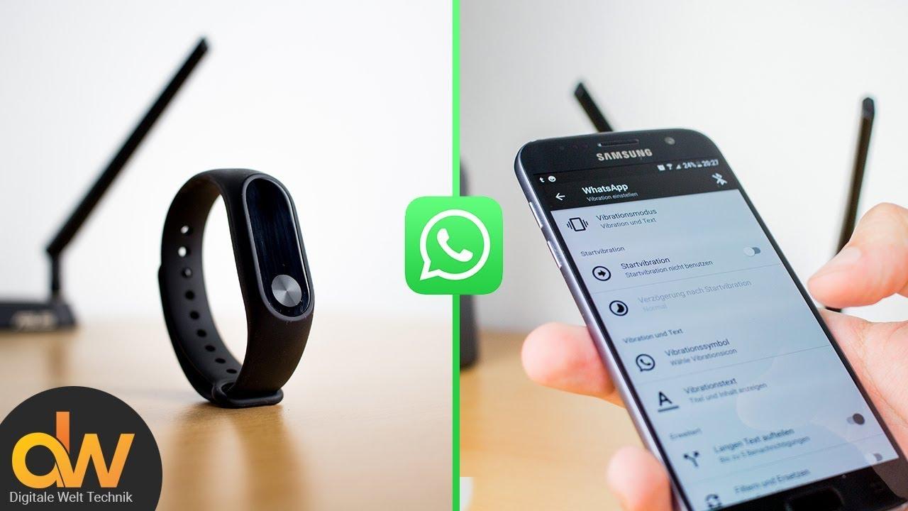 Cómo configurar Mi Band 4 para WhatsApp y demás notificaciones: