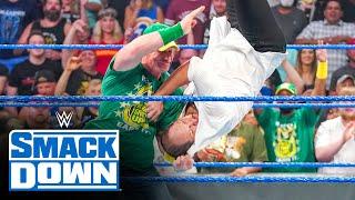 John Cena gives Baron Corbin an Attitude Adjustment: SmackDown, July 30, 2021
