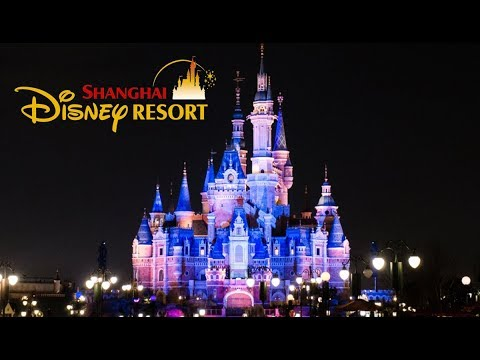 Exciting Tour of SHANGHAI Disneyland Park-China-Full HD