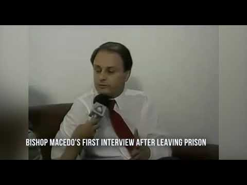 Bishop Macedo's first interview after leaving prison