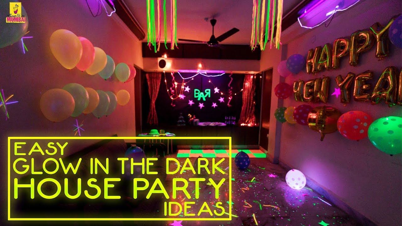 Cool ways to decorate the house for a neon theme party - How to decorate my home ...