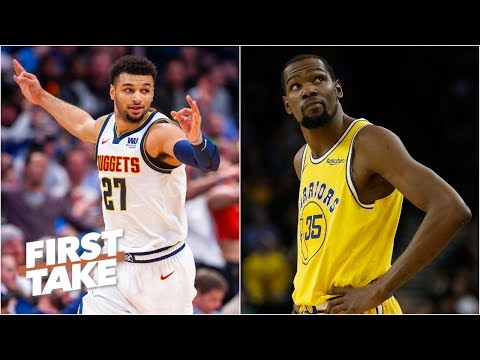 The Nuggets are the Warriors' biggest threat in the Western Conference  - Max Kellerman | First Take