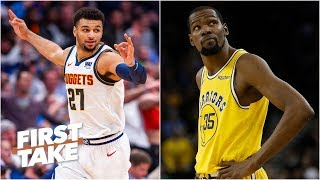The Nuggets are the Warriors\' biggest threat in the Western Conference  - Max Kellerman | First Take