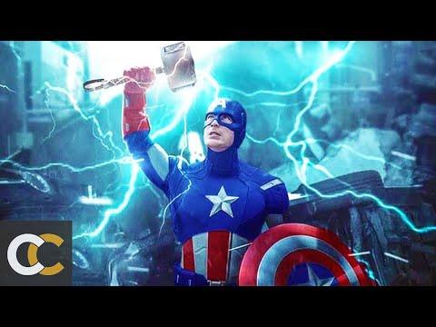 """Почему Капитан Америка поднял молот Тора """"Мьёльнир"""" лишь в Финале Мстителей"""