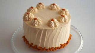 Торт Карамельный сметанник