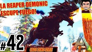 Ark Survival Evolved Daeodon Demonic La Nueva Bestia Caos Dino Serie Gameplay Espanol Ark patch 257 die daeodon (wildschwein) sind mit den dire wolf die gefährlichste rudeltiere in ark. trshow