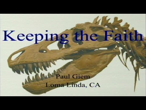 Keeping the Faith (Schweitzer dinosaur proteins and reactions) 9-30-2017 by Paul Giem