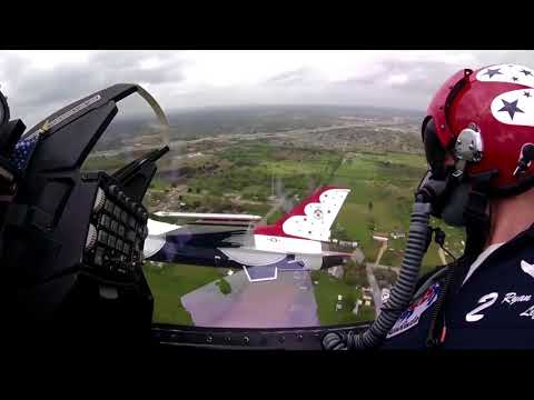 USAF THUNDERBIRDS  with AWESOME COCKPIT FOOTAGE!!
