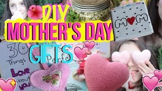 DIY Mother's Day Gifts ! Cute, Easy and Last Minute Gift Ideas for your Mum !