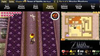 "Legend of Zelda Spirit Tracks Walkthrough 09 (4/5) ""Tower of Spirits (5): Wrecker Phantoms"""