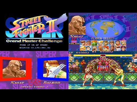 [3/5] Sagat - SUPER STREET FIGHTER II X(Arcade,JP,LV1,EASIEST) [3150x1772,60p]