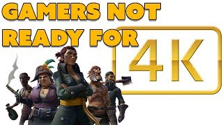 Gamers Not Ready for 4K? - The Know Game News