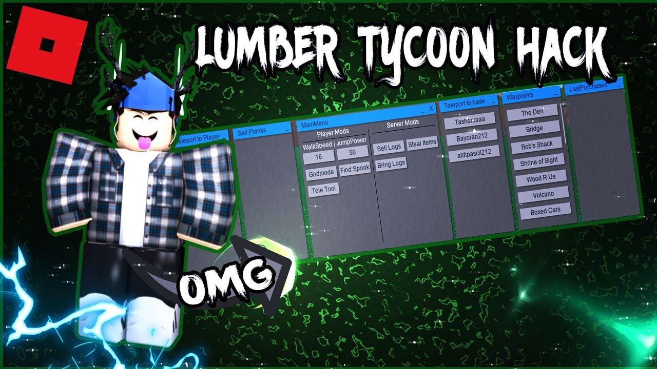 [TR]ROBLOX HACK/SCRIPT!LUMBER TYCOON 2   😱 GUI, TELEPORTS ...