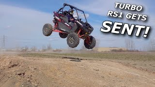 Project TURBO RZR RS1 Part 3! IT RIPS HARD! And Rick SENDS IT!