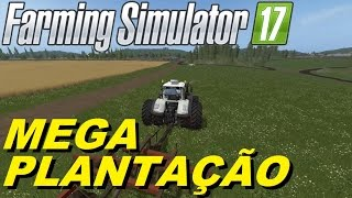 FARMING SIMULATOR 2017 - MEGA TERRENO DIFERENCIADO no MULTIPLAYER - LIVE - #33