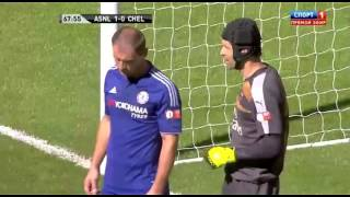 Супер СЭЙВ Петра Чеха за Арсенал Супер кубок Англии 2015