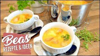 Kartoffelsuppen Rezept mit Würstchen 🥘