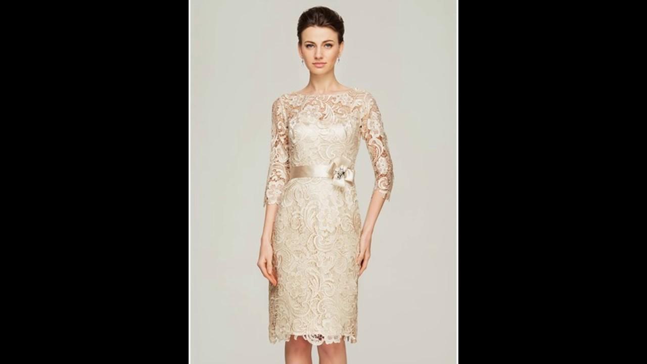 3a9b68ec90a013 Dicas de Modelos de Vestido Mãe da Noiva Para Usar - YouTube