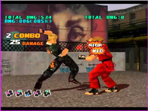 Tekken 3 Paul Combo With Key Youtube