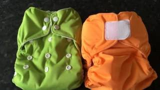 Thirsties Natural One Size AIO Nappy Demonstration