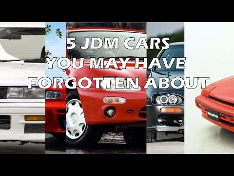 5 JDM cars you may have forgotten about