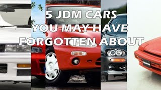 homepage tile video photo for 5 JDM cars you may have forgotten about