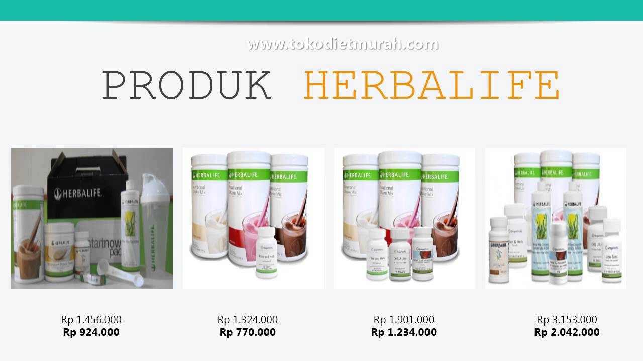 Produk Herbalife Murah - YouTube