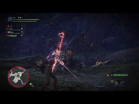 Monster Hunter: World Ancient Leshen Bow, Bow, SnS, GS