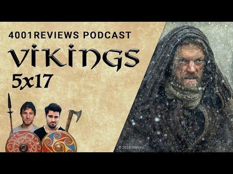 Podcast: Vikings 5x17 &39;Das Schlimmste&39; Analyse Theorien Fakten  4001Reviews Podcast 45