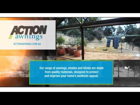 Action Awnings | Ziptrak® Blind System