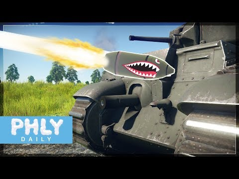 FRENCH CHAR B1 REMOVER (War Thunder Tanks Gameplay)