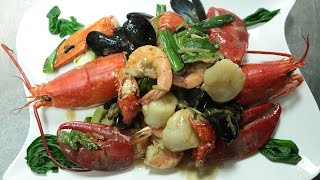 Hong Kong Style Ginger And Onion Seafood 薑葱海鮮