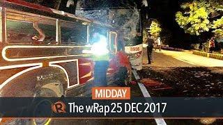 20 killed in Christmas Day road crash in La Union