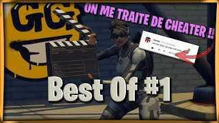 Fortnite BEST OF AGY #1 ON ME TRAITE DE CHEATER !!