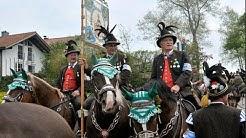 Georgi-Ritt Traunstein  - UNESCO immat. Kulturerbe - Традиция и культура Бавария - Bavarian Customs