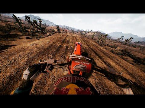 Monster Energy Supercross - DLC Compound. GOPRO KTM REDBULL