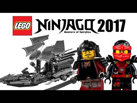 LEGO Ninjago 2017 sets list!