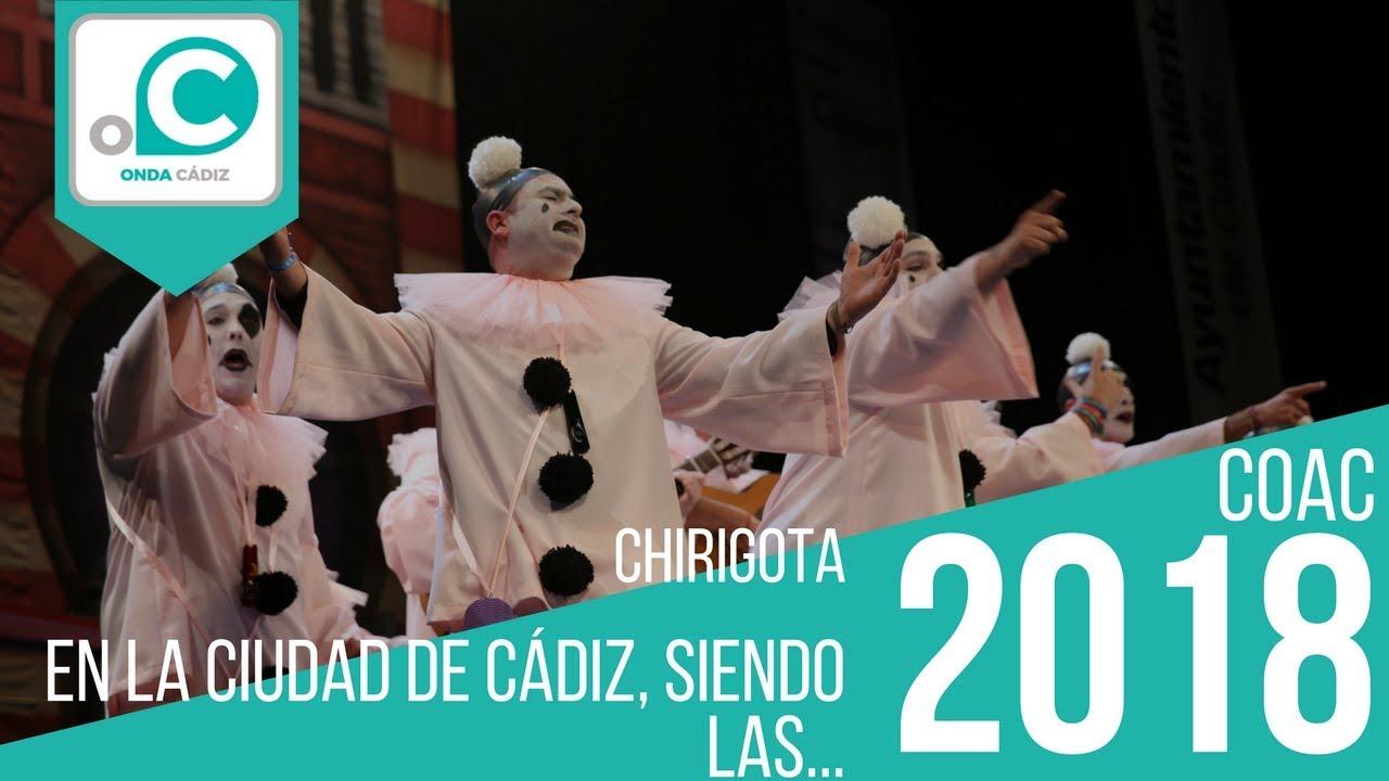 Chirigota El La Ciudad De Cádiz Siendo Las Preliminares Youtube
