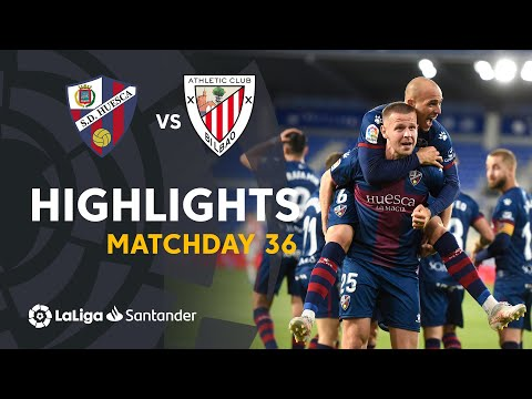 Huesca Ath. Bilbao Goals And Highlights