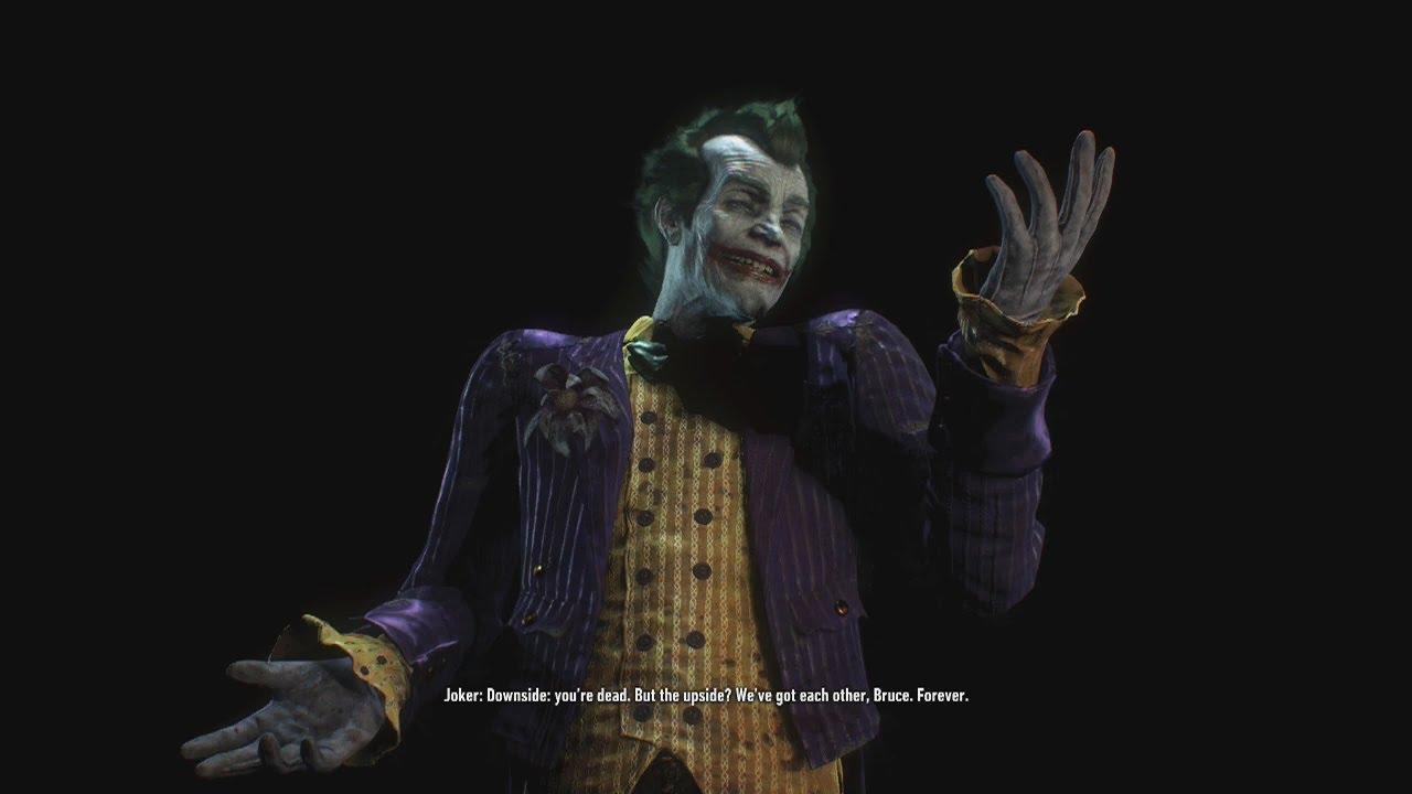 Batman Arkham Knight The Joker Game Over Screens - YouTube