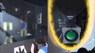 Portal 2: Co-op Walkthrough - Part 2 [1080p HD] (PC/PS3/XBOX 360)