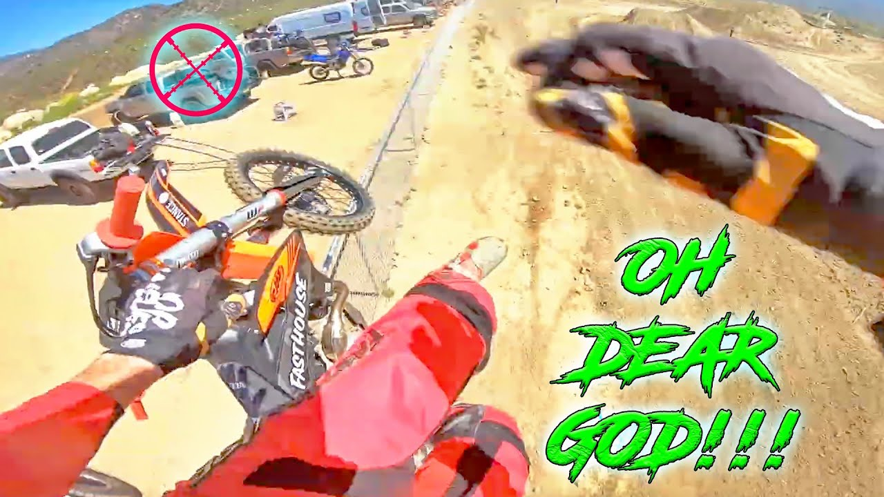 EPIC & SCARY Dirt Bike CRASHES & WRECKS 2021 - How NOT to Ride!