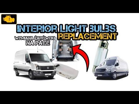 Cargo E Interior Light Bulbs Replacament Sprinter Crafter