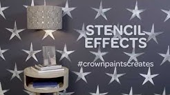 Crown Paints - how to create stencil effects on your wall