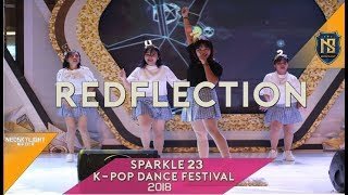 Redflection (Rollin' Rollin' - 러브포션 Love Potion) at Sparkle 23th K-Pop Dance Festival 2018