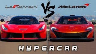 Ferrari LaFerrari vs McLaren P1 | Forza Horizon 3