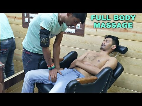 Head, Upper Body & Lower Body Massage For Ultimate Relaxation | Neck Cracking | Indian ASMR
