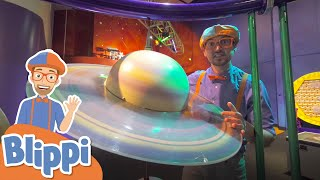 Blippi Visits The Science Museum For Children | Educational Videos For Kids