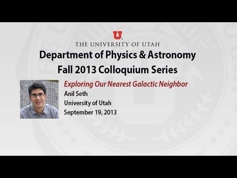 Colloquium: Anil Seth, September 19, 2013