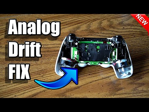 How to FIX ANALOG DRIFT in PS4 Controller! (100% Works!) (Cleaning Method)